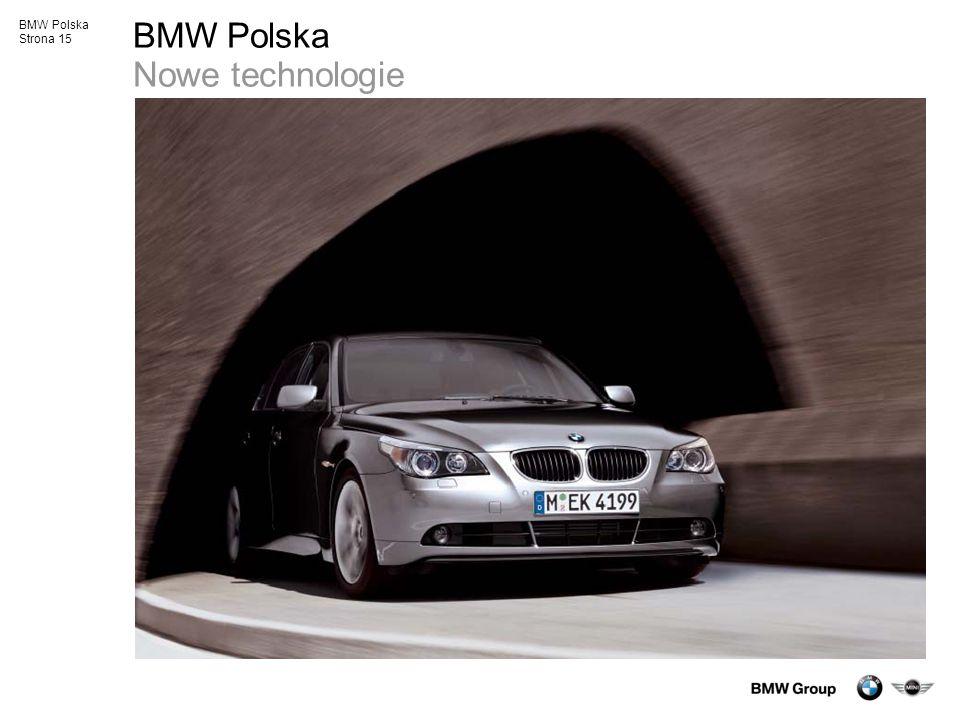 BMW Polska Nowe technologie
