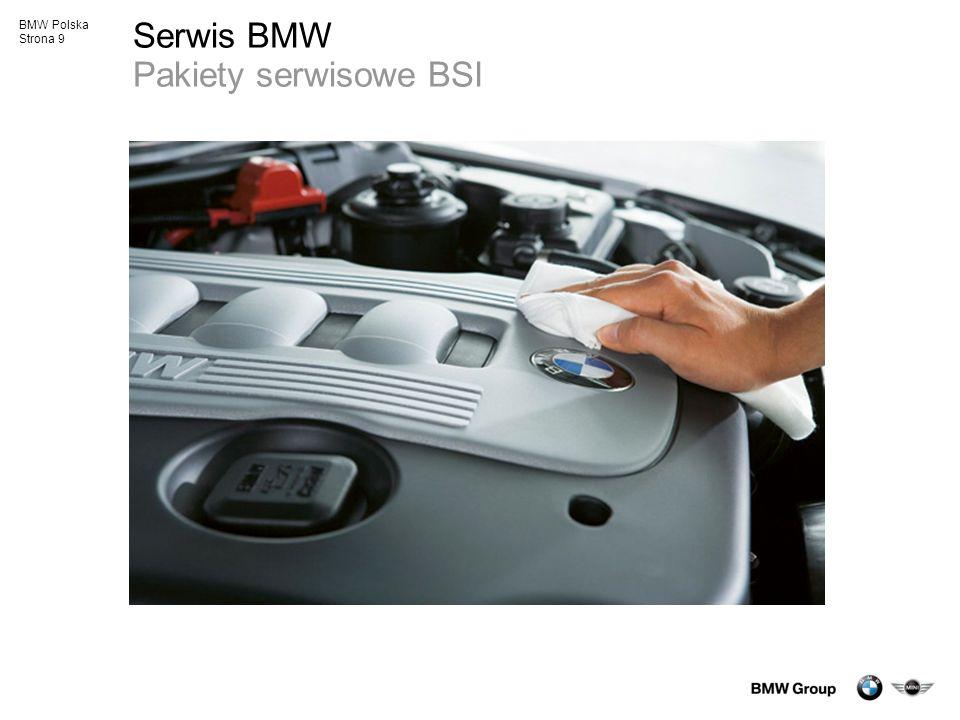 Serwis BMW Pakiety serwisowe BSI