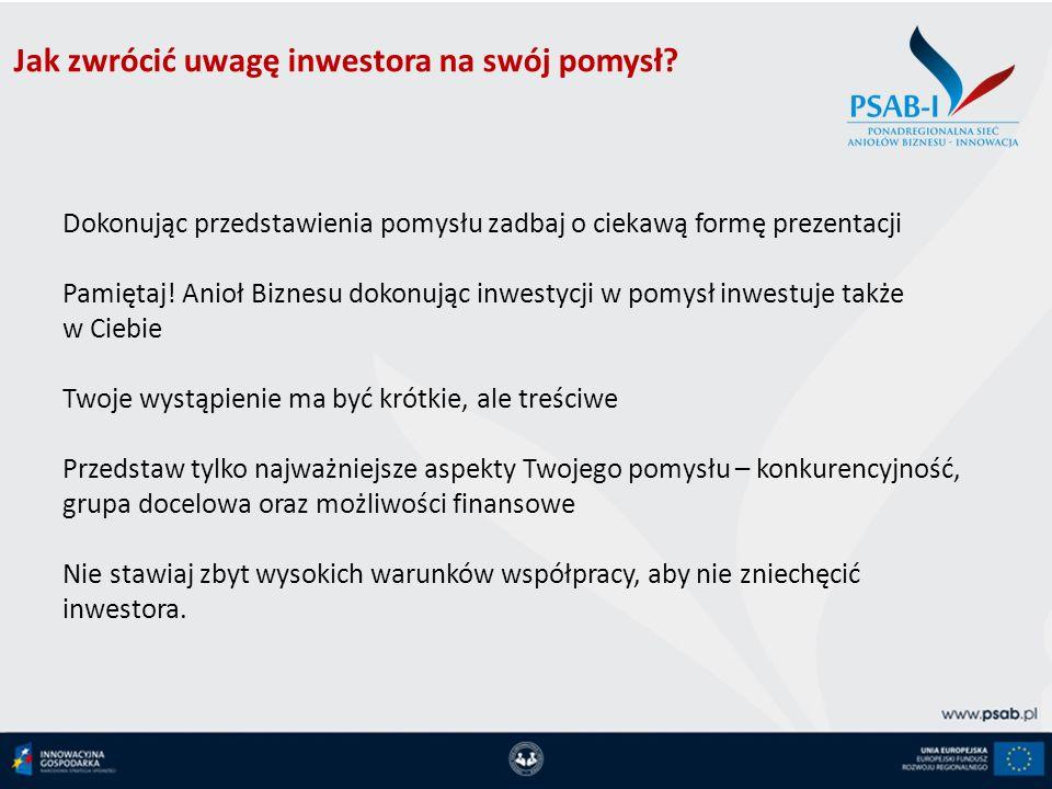Jak zwrócić uwagę inwestora na swój pomysł