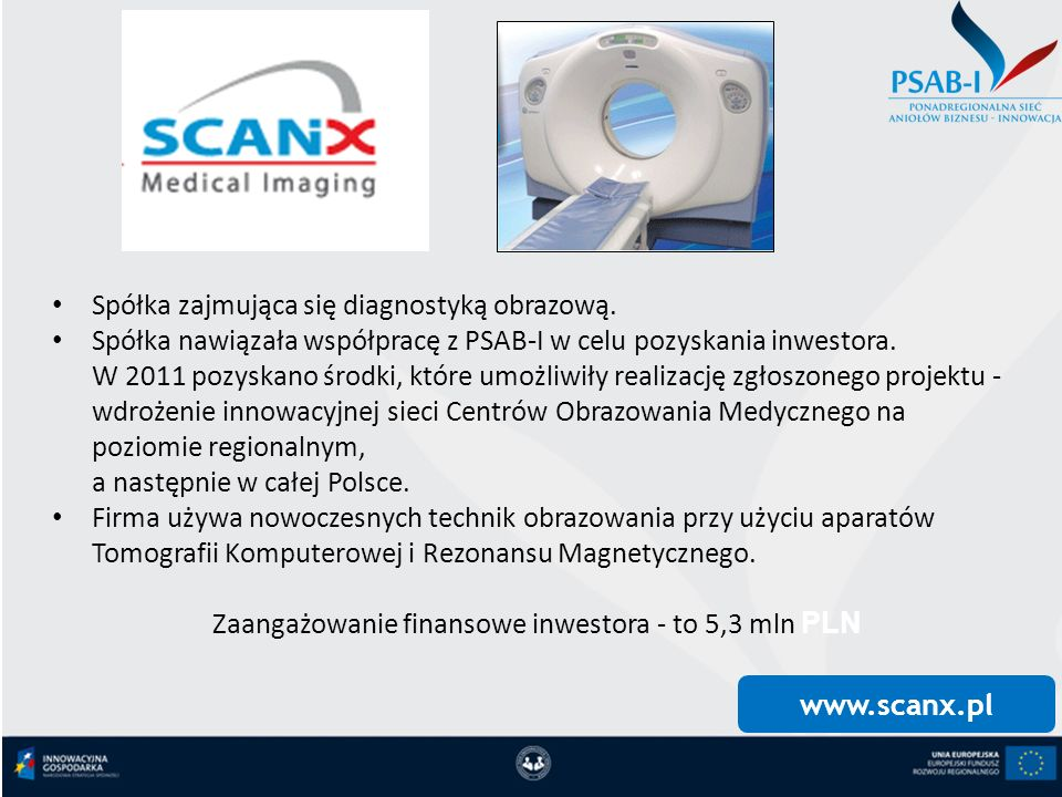 Zaangażowanie finansowe inwestora - to 5,3 mln PLN