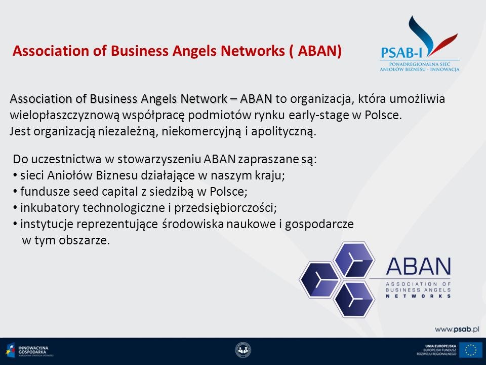 Association of Business Angels Networks ( ABAN)