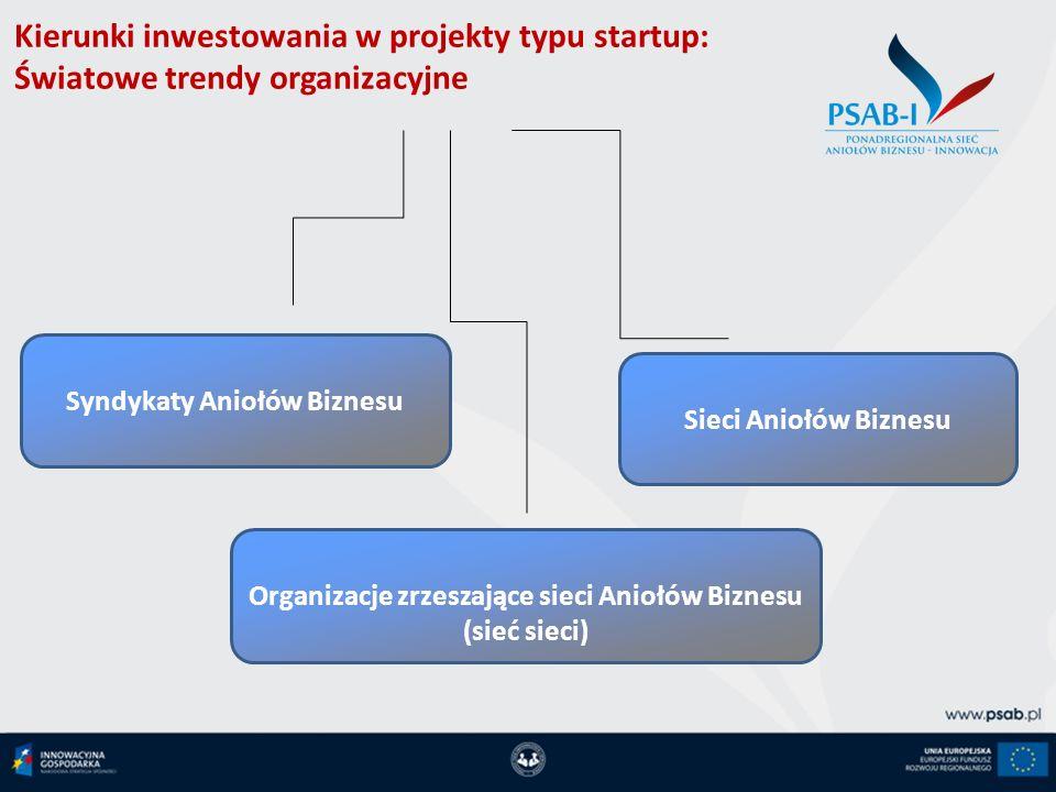 Kierunki inwestowania w projekty typu startup: