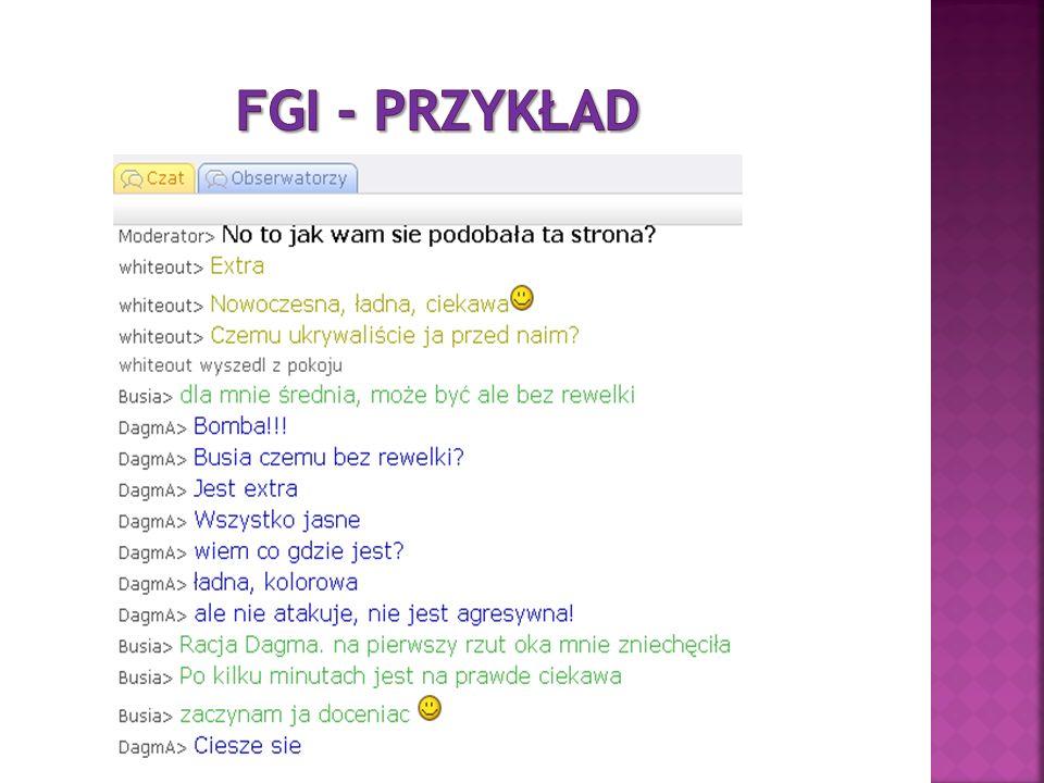 FGI - przykład