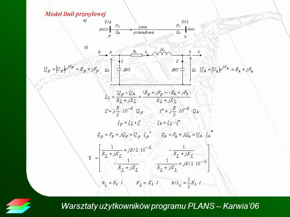 Model linii przesyłowej