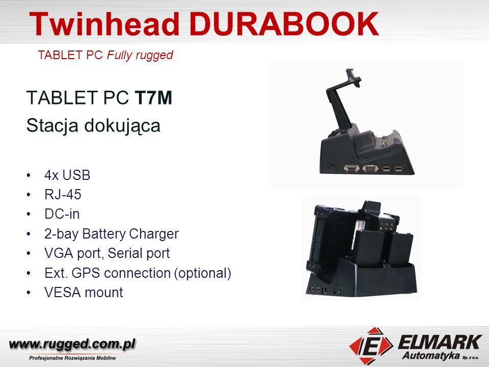 Twinhead DURABOOK TABLET PC T7M Stacja dokująca 4x USB RJ-45 DC-in