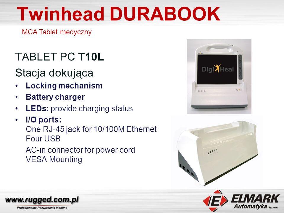 Twinhead DURABOOK TABLET PC T10L Stacja dokująca Locking mechanism