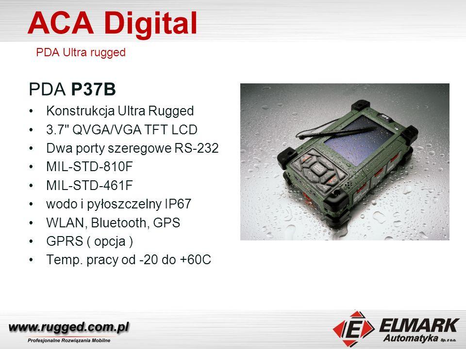ACA Digital PDA P37B Konstrukcja Ultra Rugged 3.7 QVGA/VGA TFT LCD