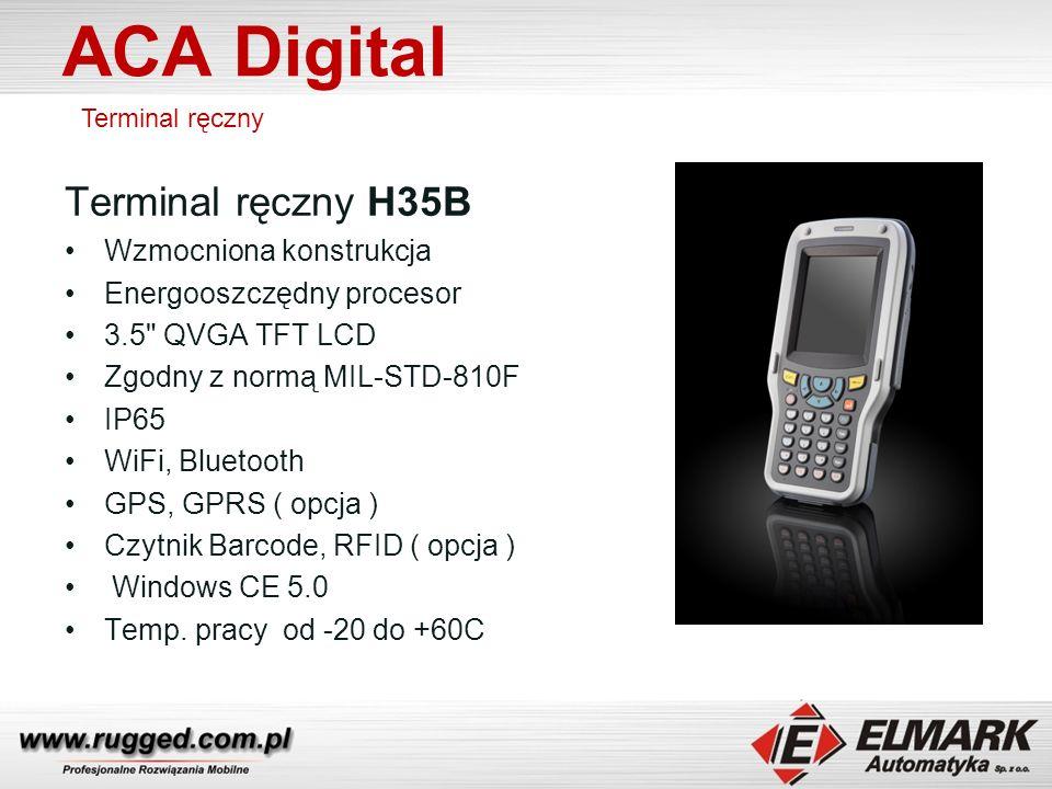 ACA Digital Terminal ręczny H35B Wzmocniona konstrukcja