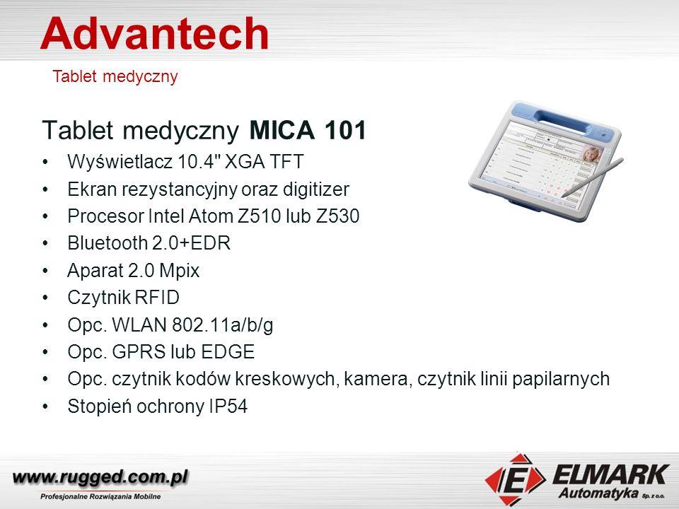 Advantech Tablet medyczny MICA 101 Wyświetlacz 10.4 XGA TFT