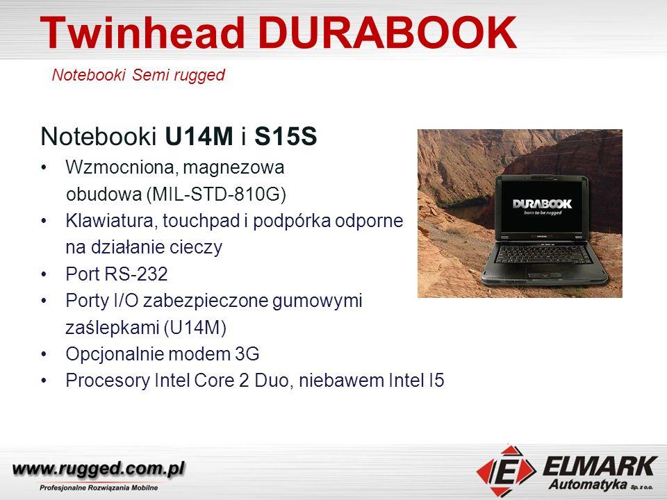 Twinhead DURABOOK Notebooki U14M i S15S Wzmocniona, magnezowa