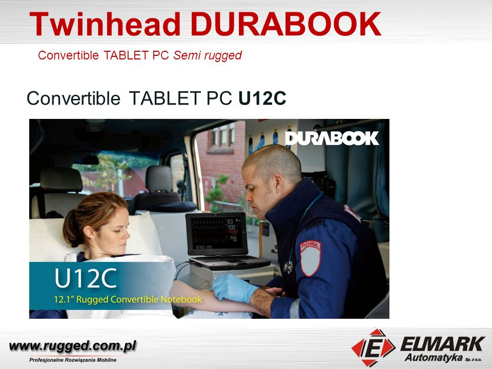 Twinhead DURABOOK Convertible TABLET PC U12C