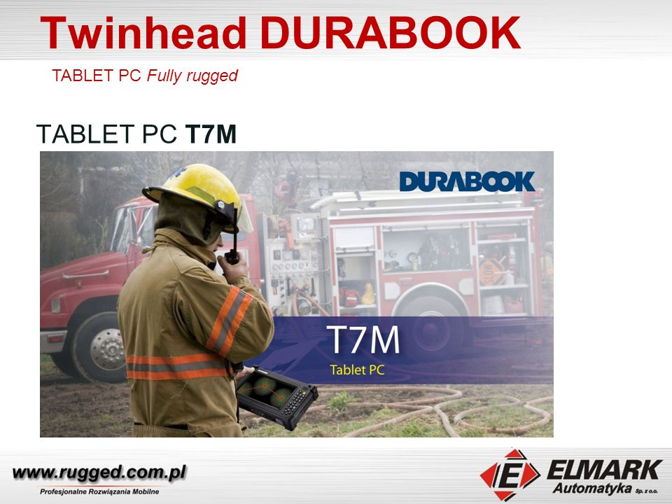 Twinhead DURABOOK TABLET PC Fully rugged TABLET PC T7M