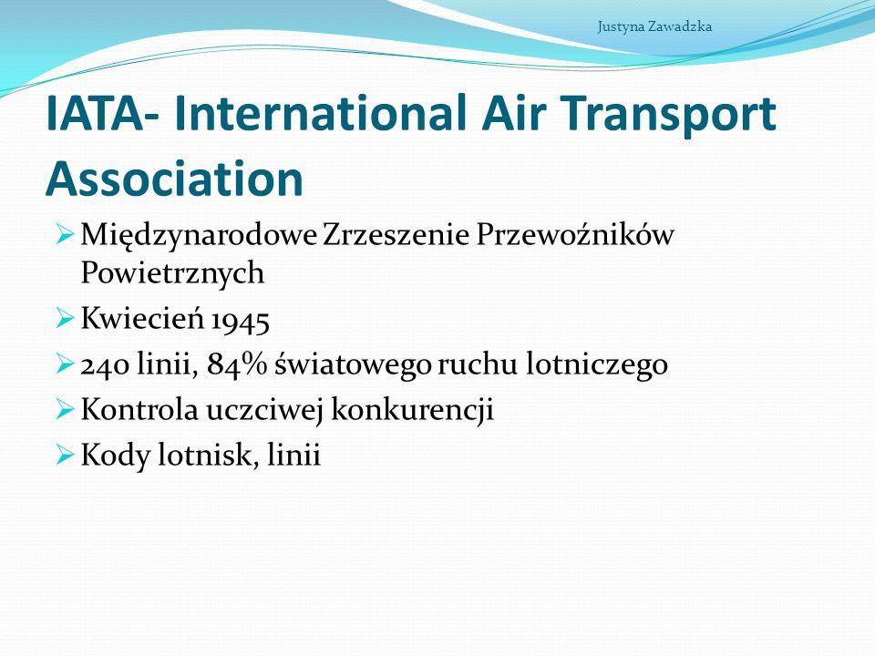 IATA- International Air Transport Association