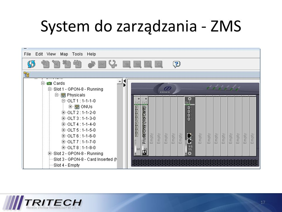 System do zarządzania - ZMS