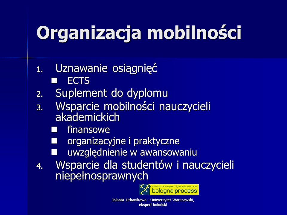 Organizacja mobilności