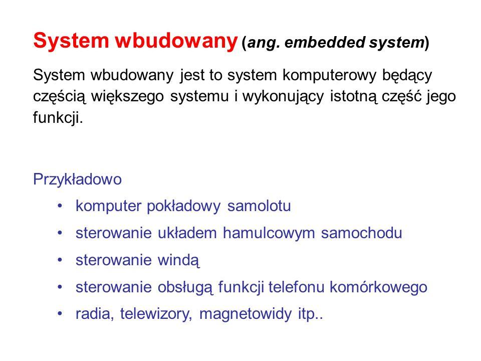 System wbudowany (ang. embedded system)