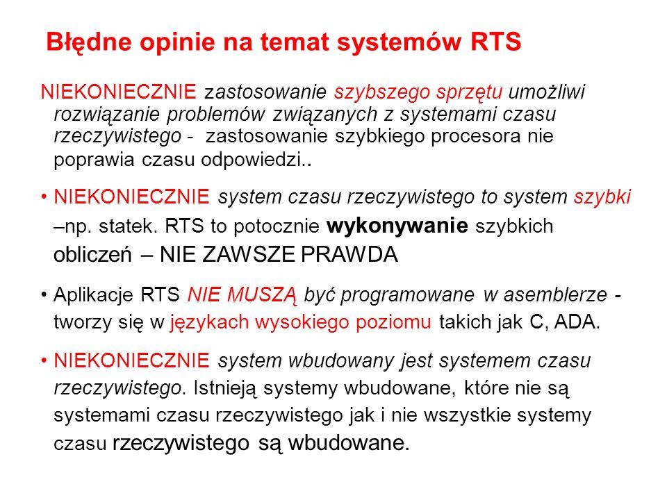 Błędne opinie na temat systemów RTS