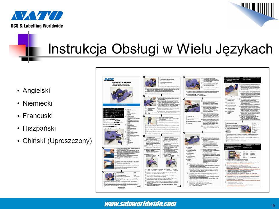 Instrukcja Obsługi w Wielu Językach