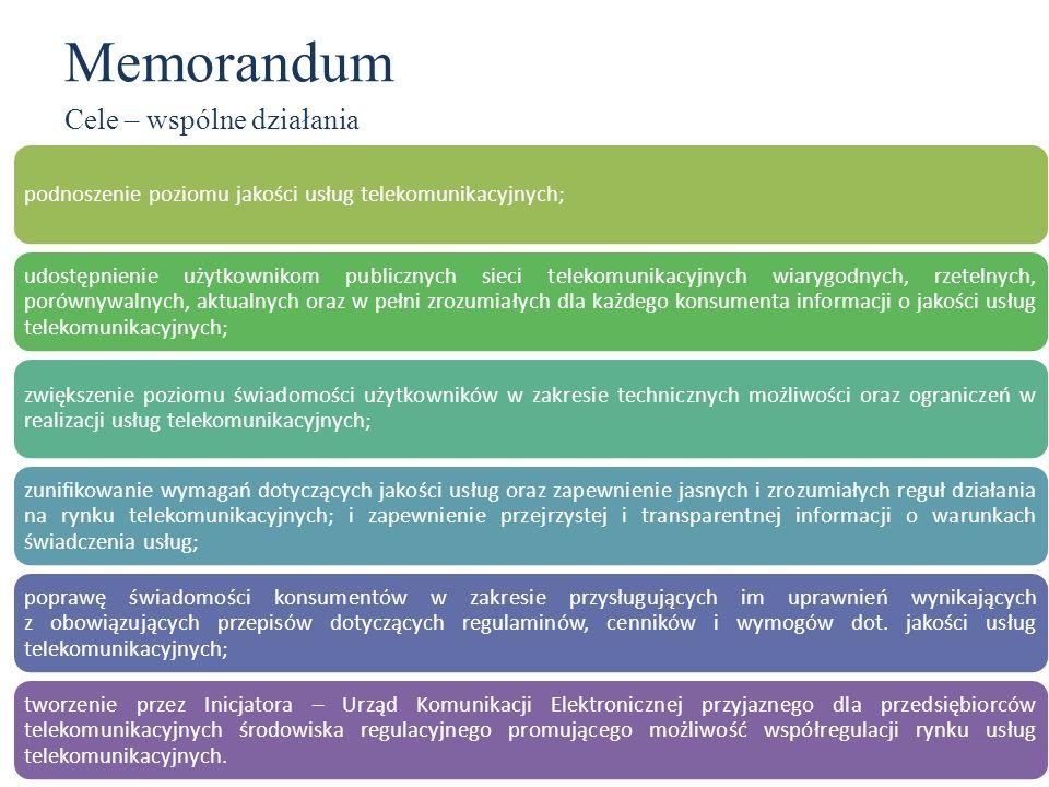 Memorandum Cele – wspólne działania