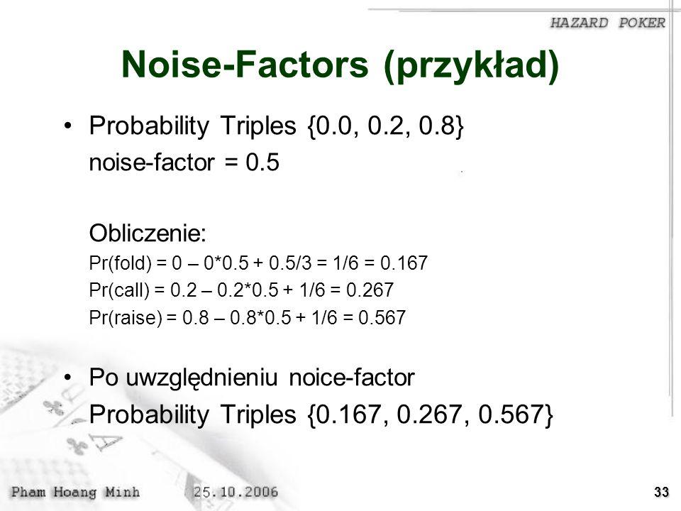 Noise-Factors (przykład)
