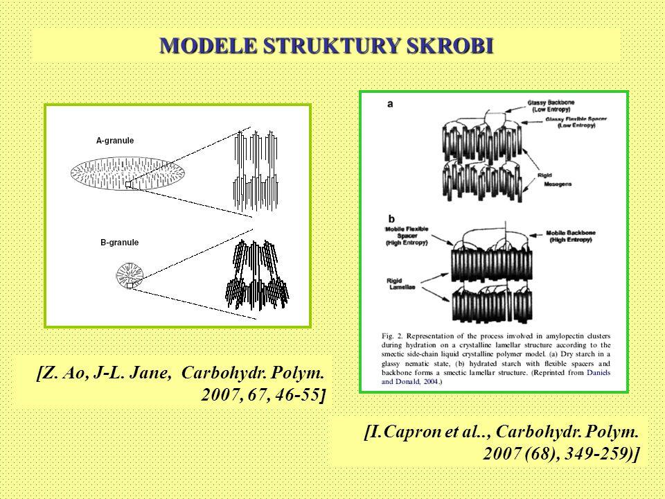 MODELE STRUKTURY SKROBI