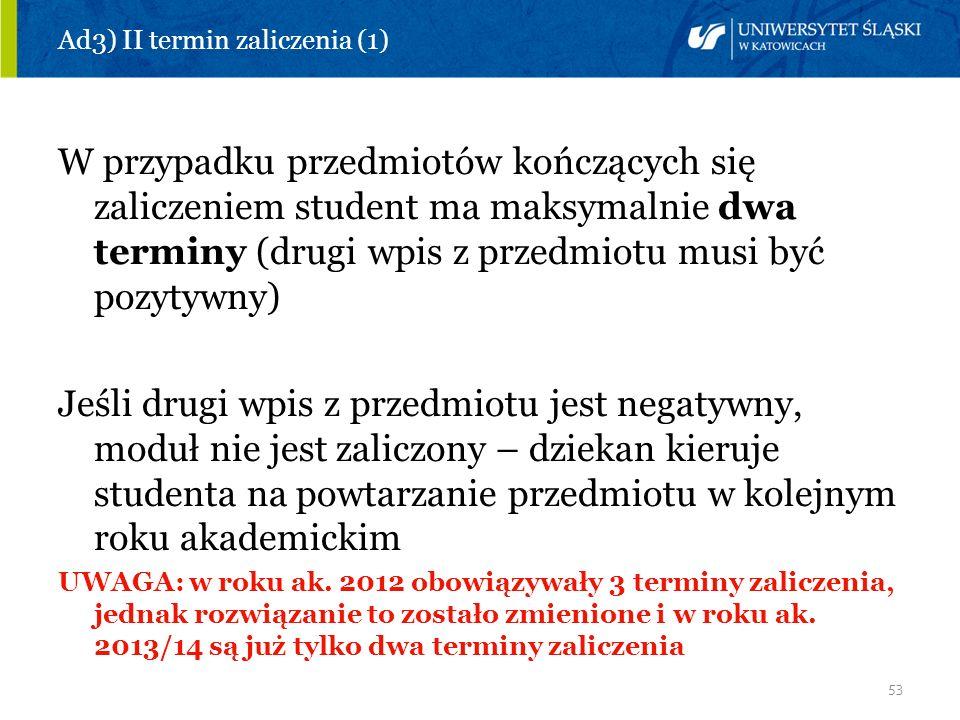 Ad3) II termin zaliczenia (1)