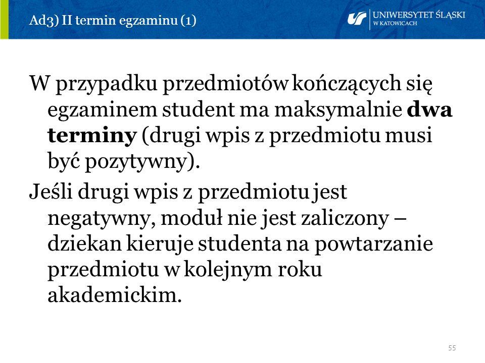 Ad3) II termin egzaminu (1)