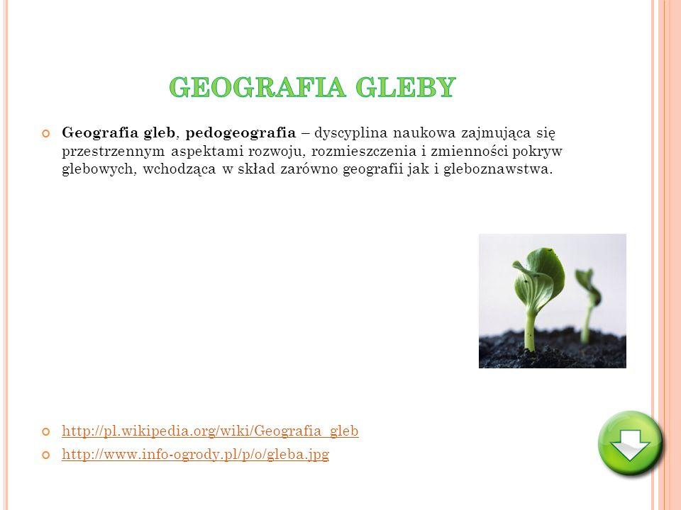 GEOGRAFIA GLEBY