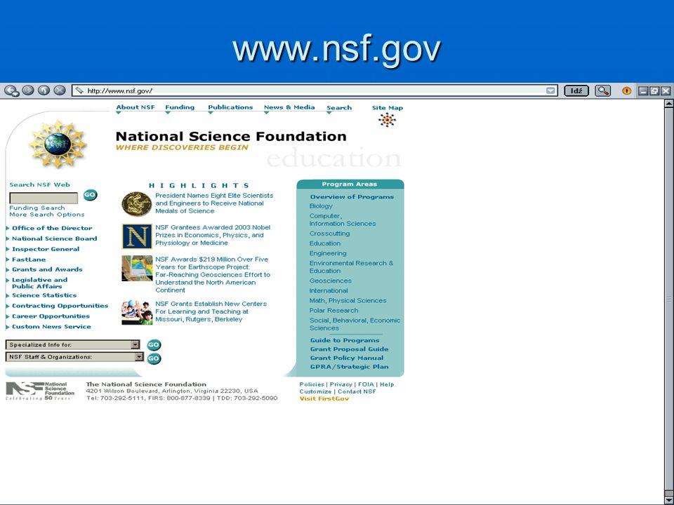 www.nsf.gov