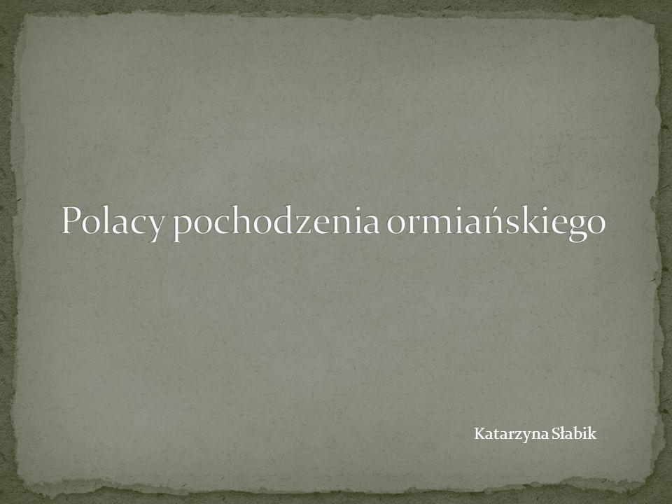 Polacy pochodzenia ormiańskiego