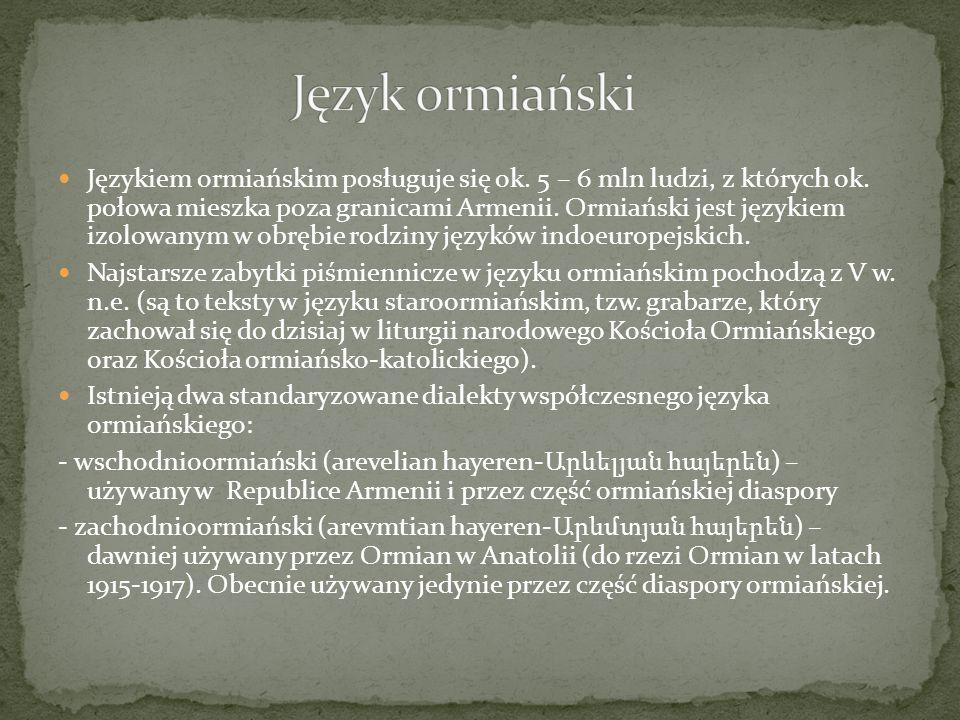 Język ormiański