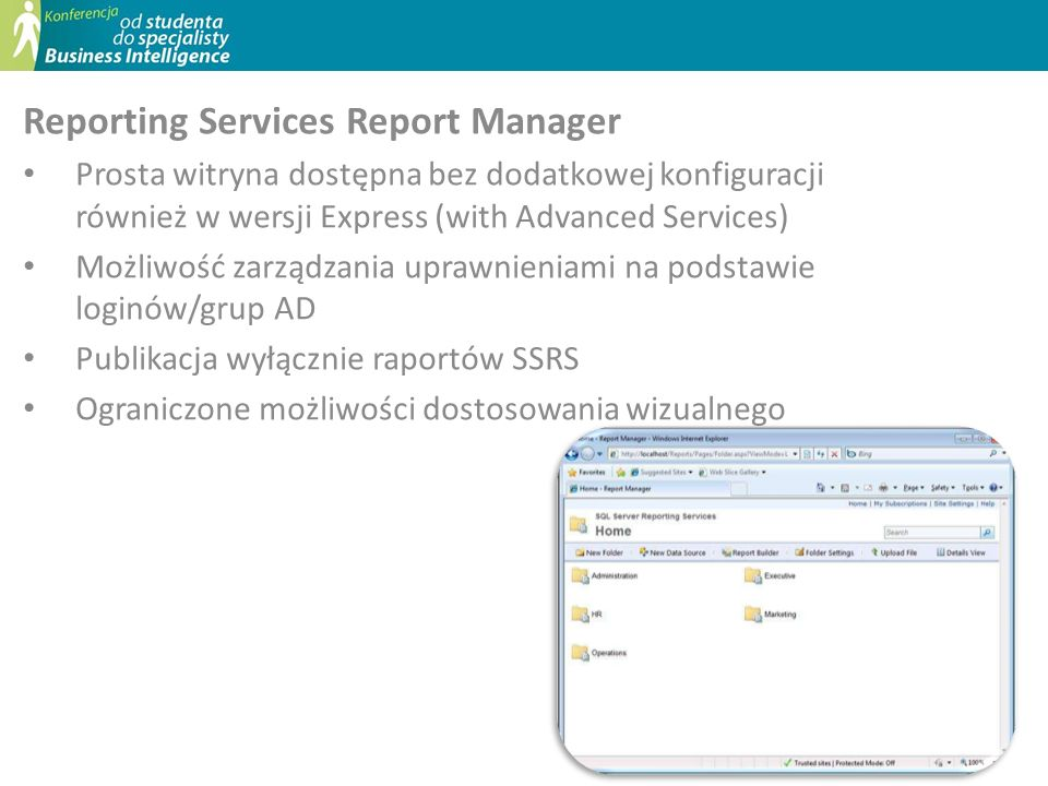 Reporting Services Report Manager