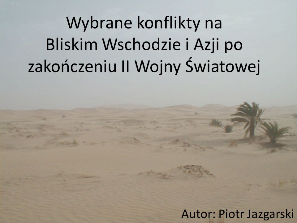 Autor: Piotr Jazgarski