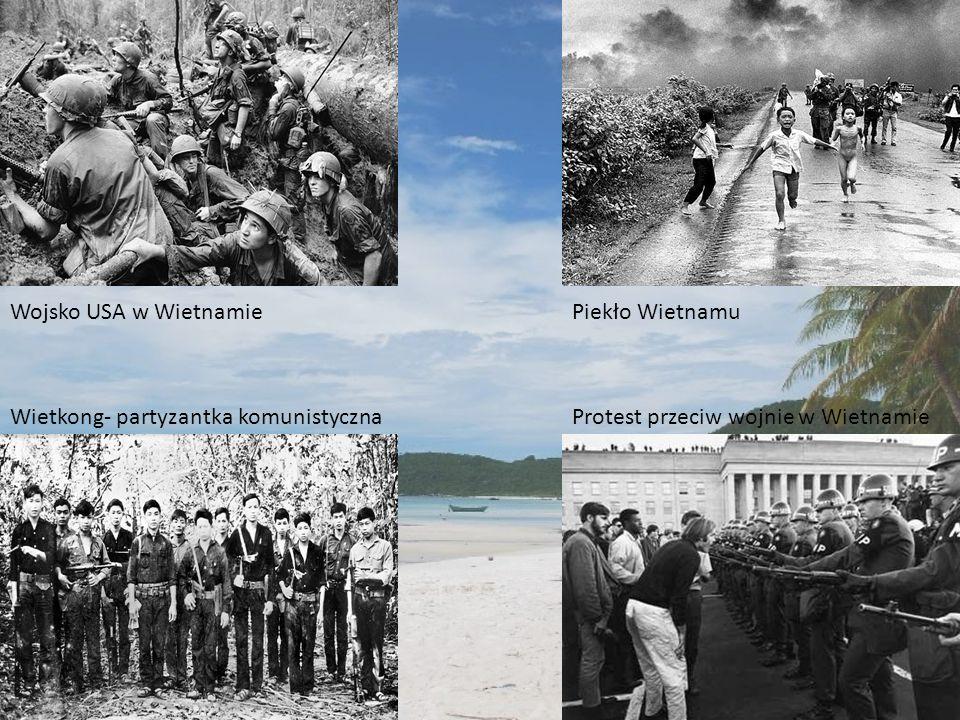 Wojsko USA w Wietnamie Piekło Wietnamu. Wietkong- partyzantka komunistyczna.