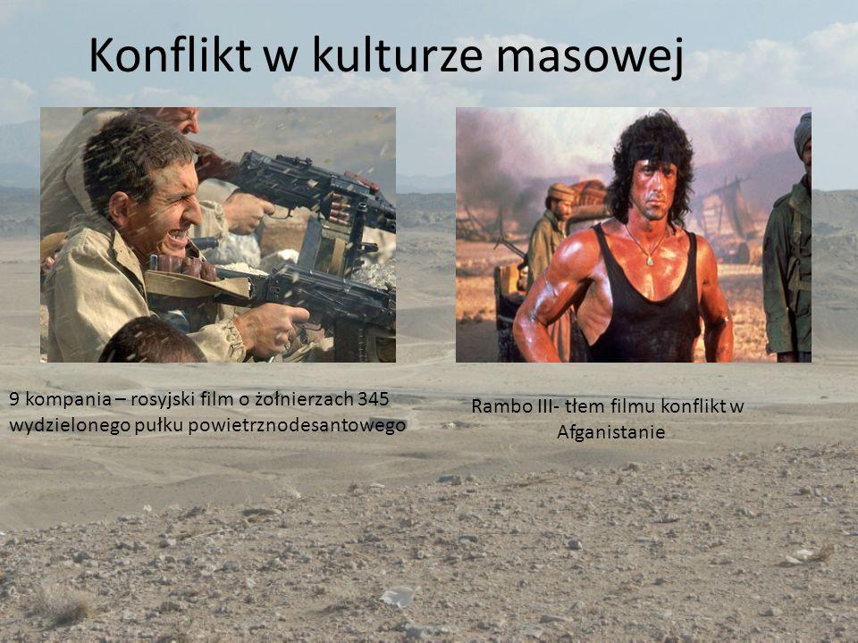 Konflikt w kulturze masowej