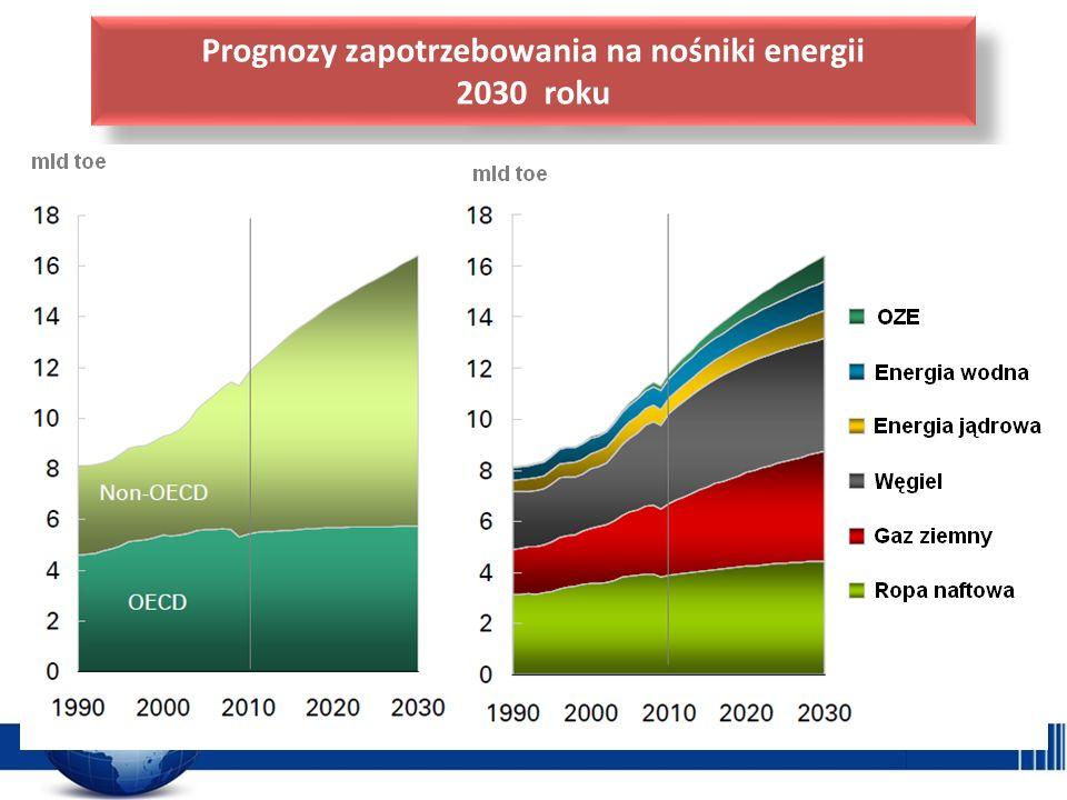 Prognozy zapotrzebowania na nośniki energii