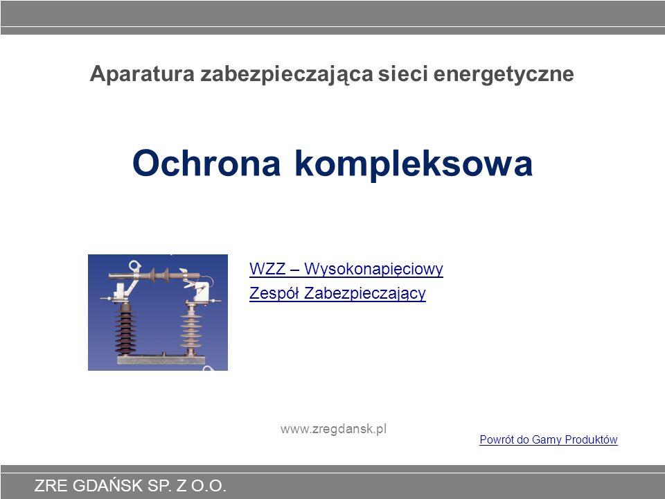 Aparatura zabezpieczająca sieci energetyczne
