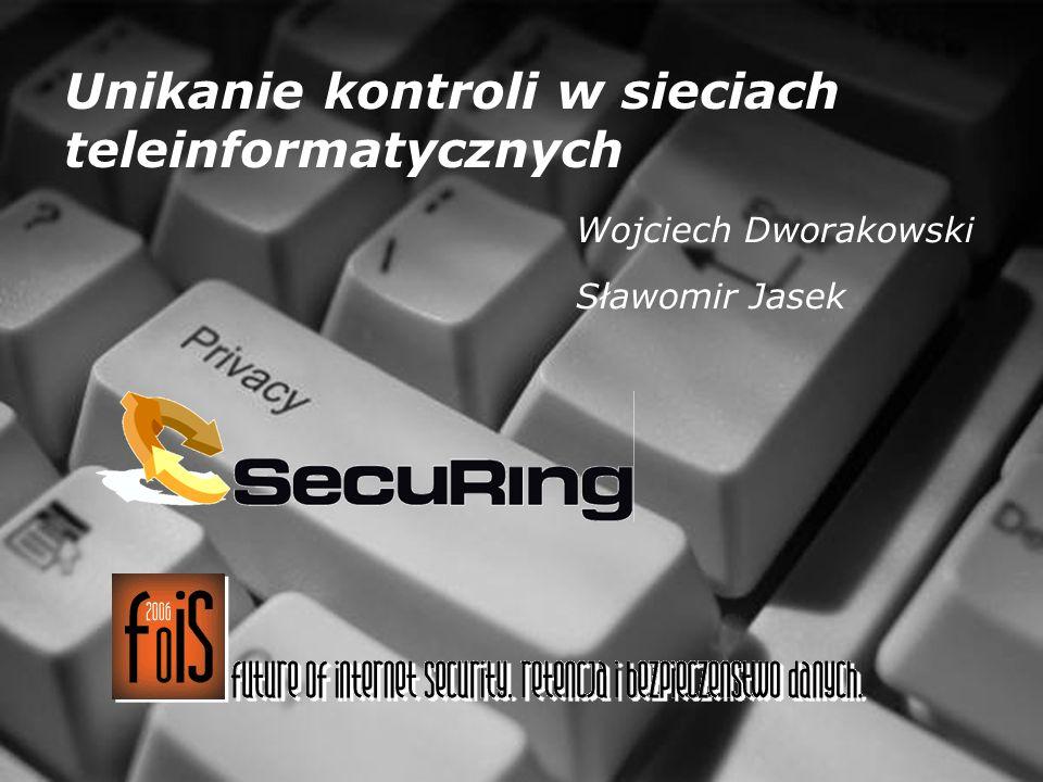 Unikanie kontroli w sieciach teleinformatycznych