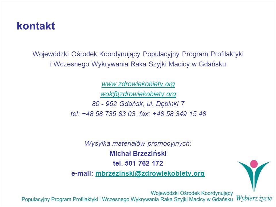 e-mail: mbrzezinski@zdrowiekobiety.org