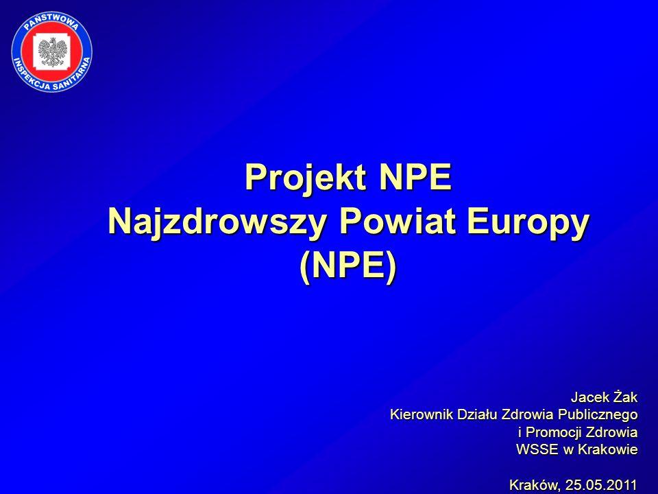 Projekt NPE Najzdrowszy Powiat Europy (NPE)