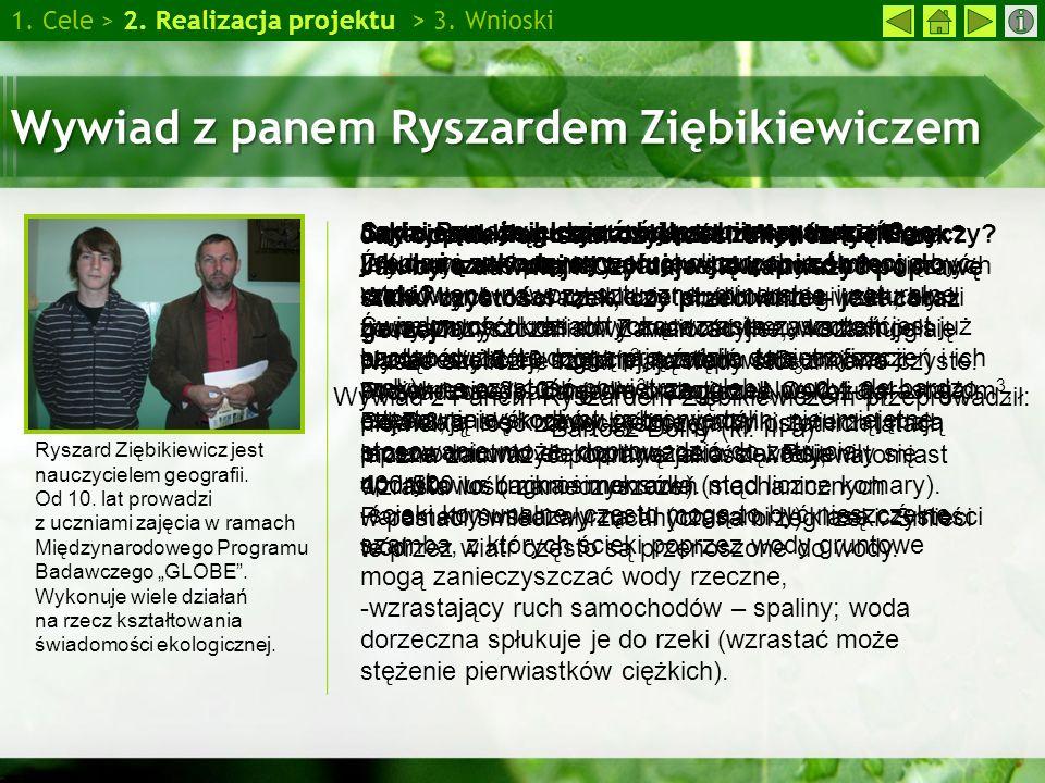 Wywiad z panem Ryszardem Ziębikiewiczem
