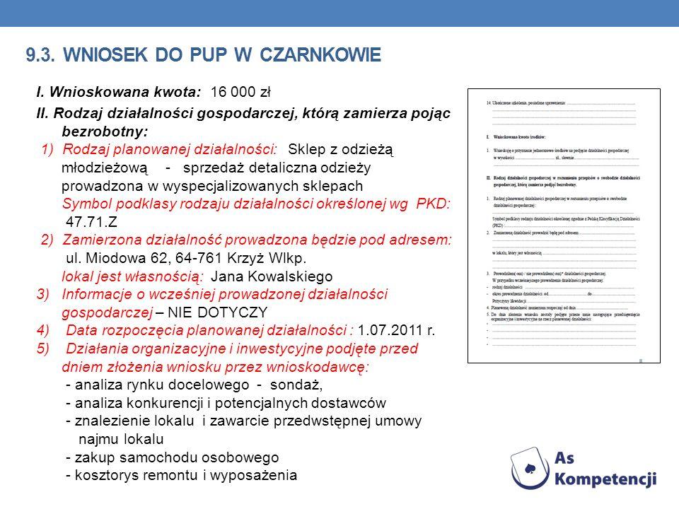 9.3. wniosek do pup w Czarnkowie