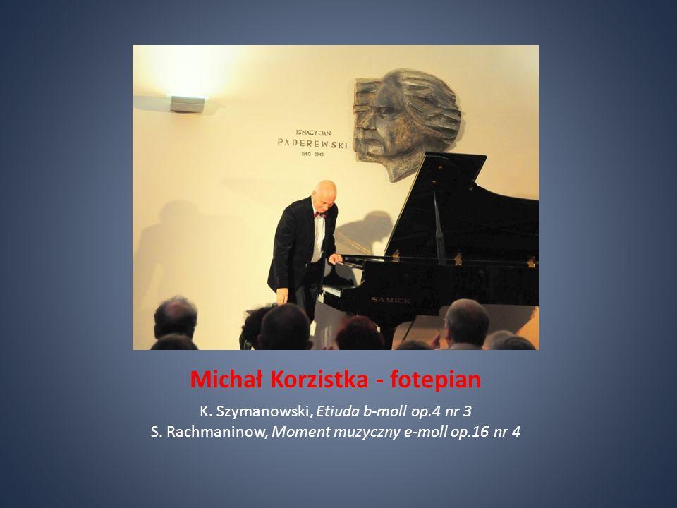 Michał Korzistka - fotepian