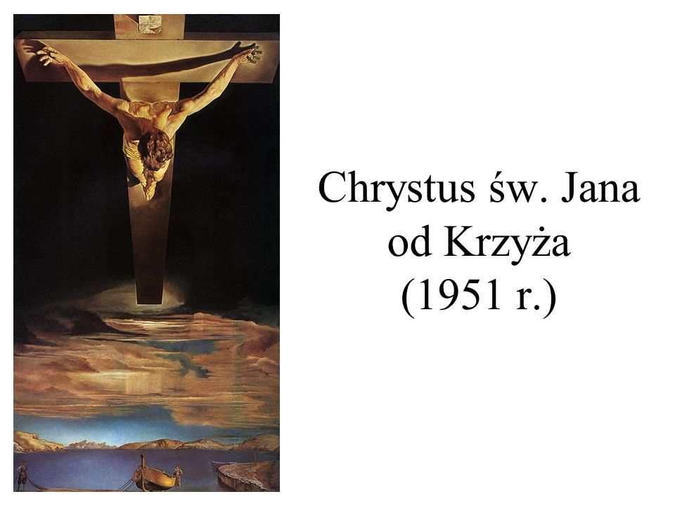 Chrystus św. Jana od Krzyża (1951 r.)