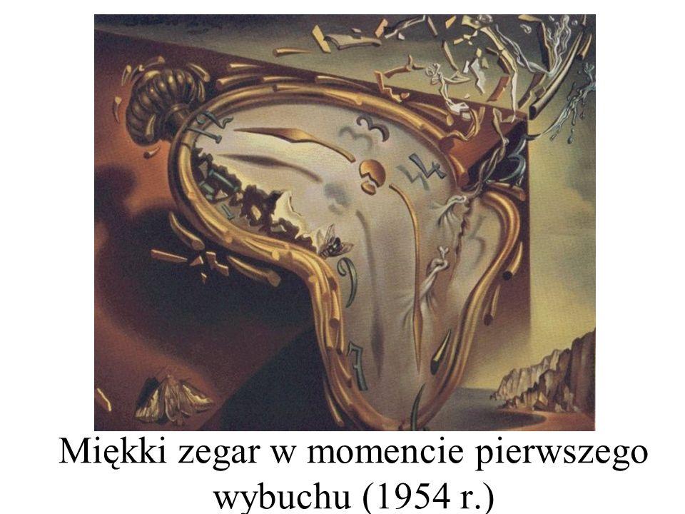 Miękki zegar w momencie pierwszego wybuchu (1954 r.)