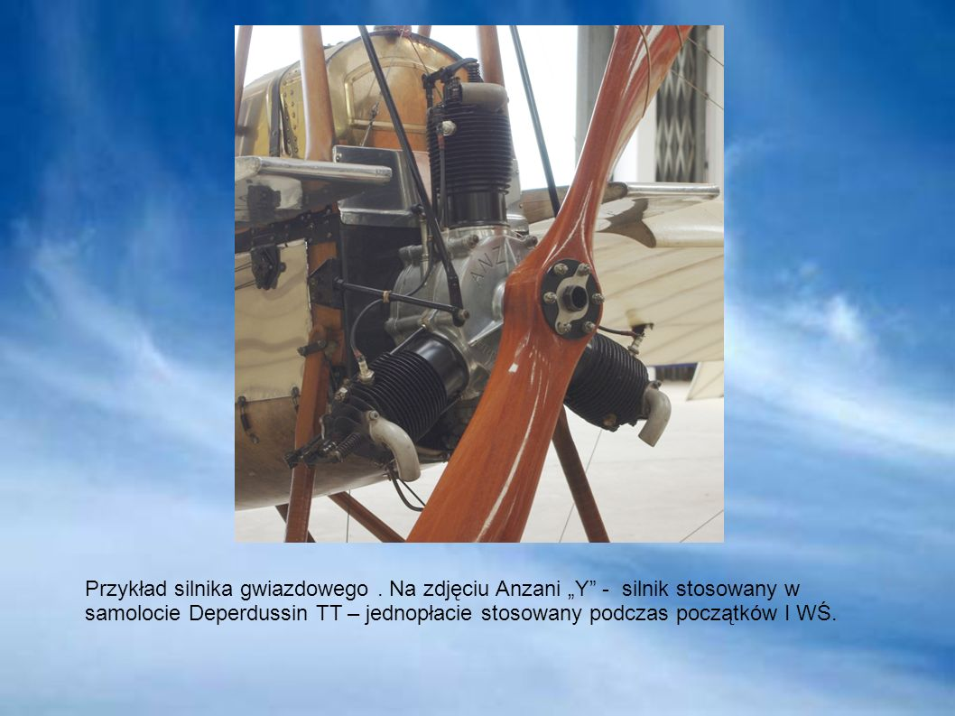 Przykład silnika gwiazdowego