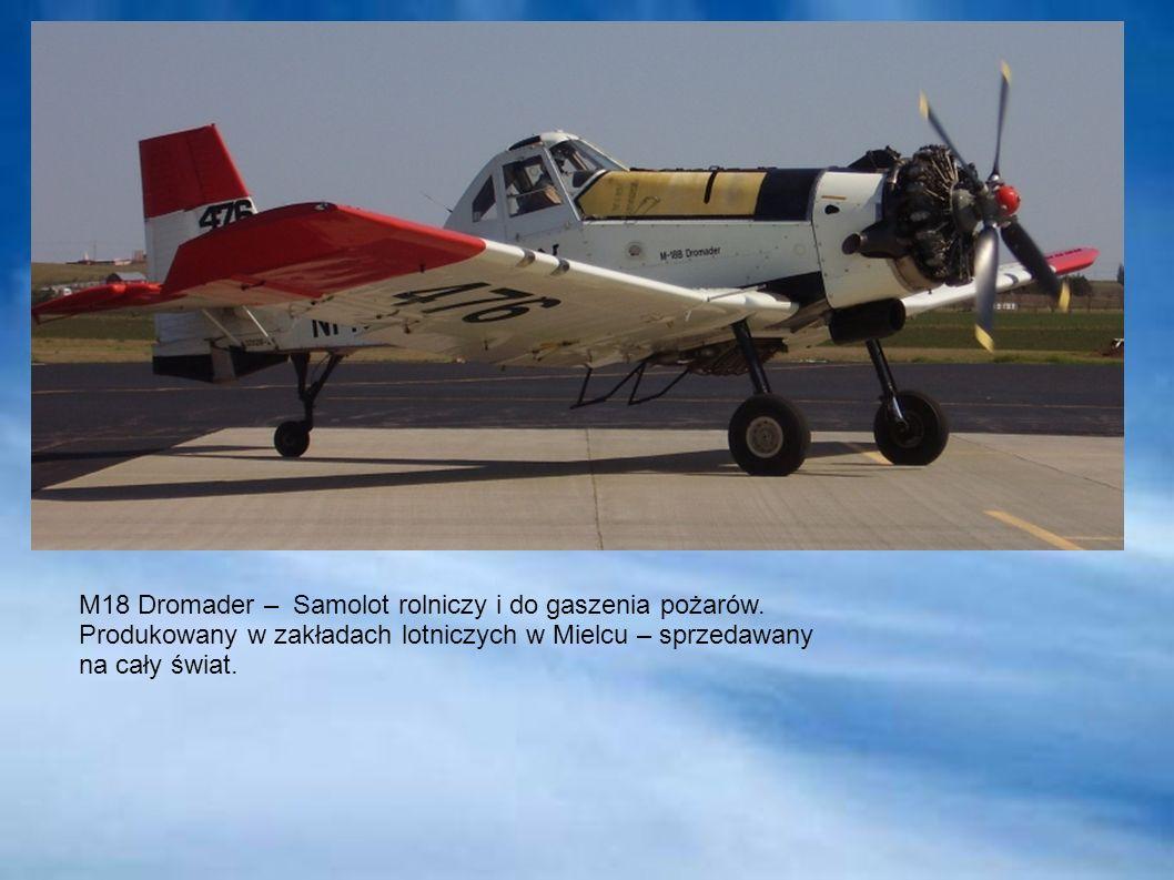 M18 Dromader – Samolot rolniczy i do gaszenia pożarów