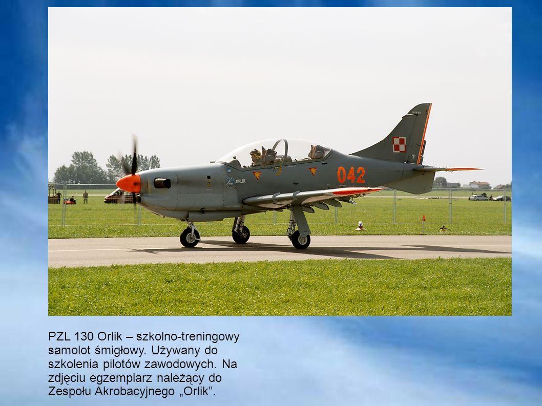 PZL 130 Orlik – szkolno-treningowy samolot śmigłowy