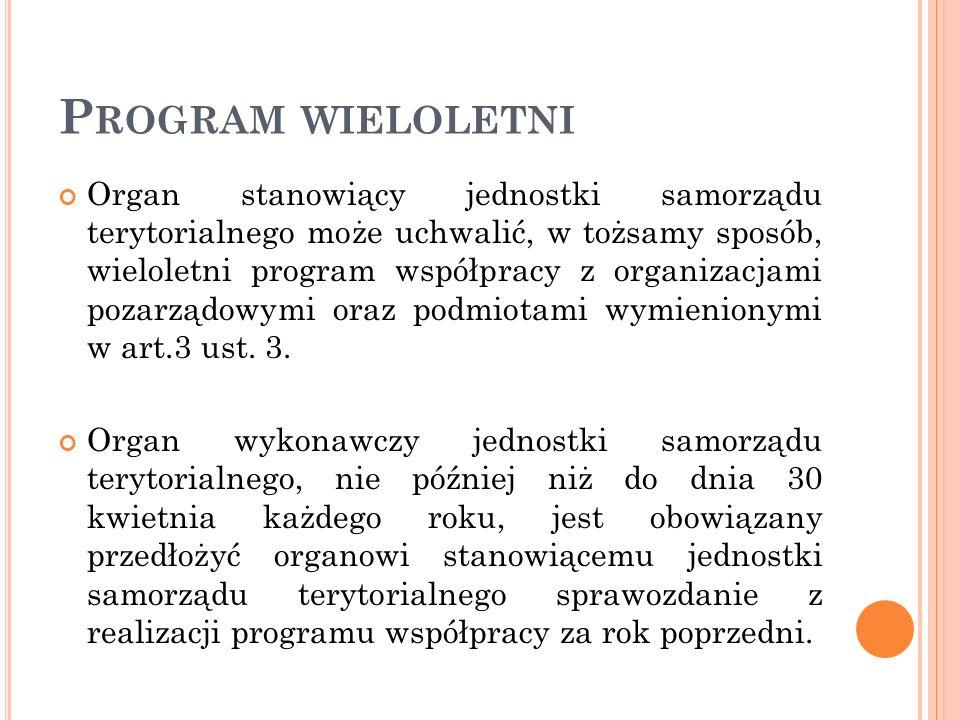 Program wieloletni