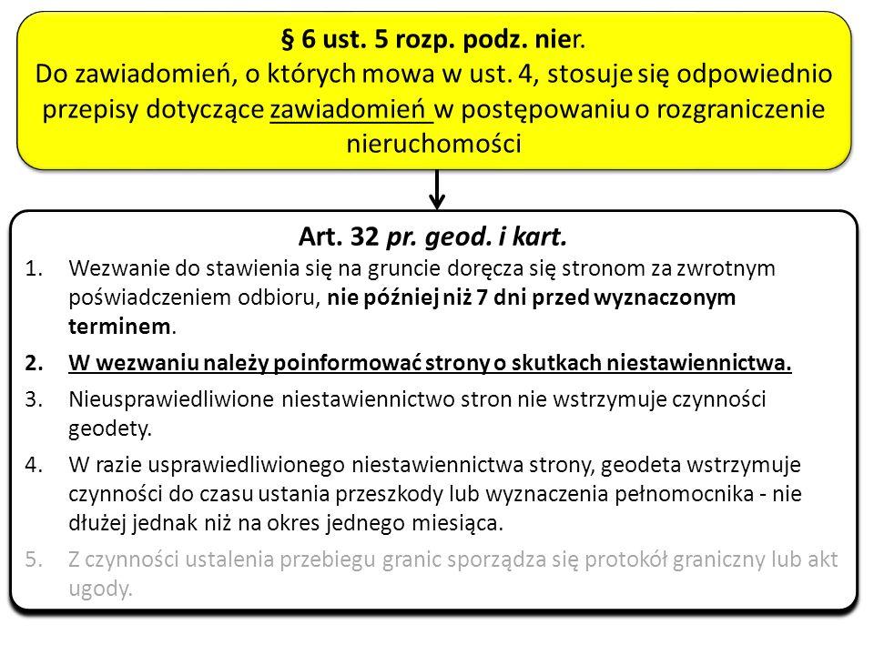 § 6 ust. 5 rozp. podz. nier.